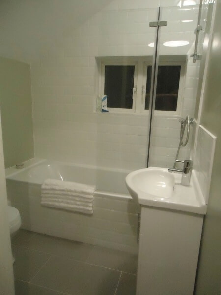 homefix handyman nottingham new bathroom image