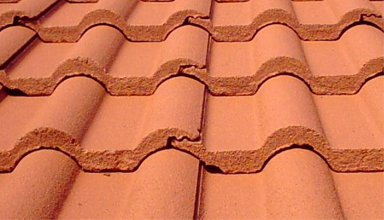 roof tile cement