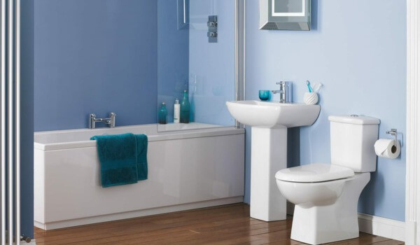 bathroom-design-white-blue-wood-floor