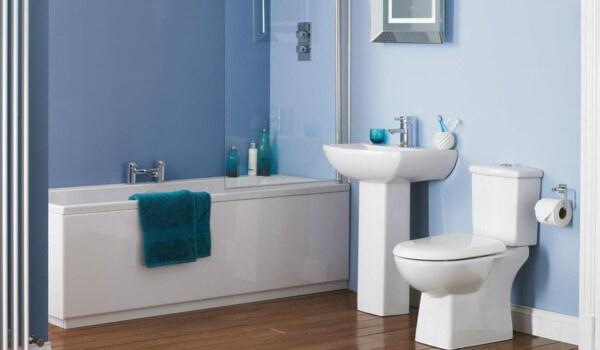 bathroom-design-white-blue-wood-floor