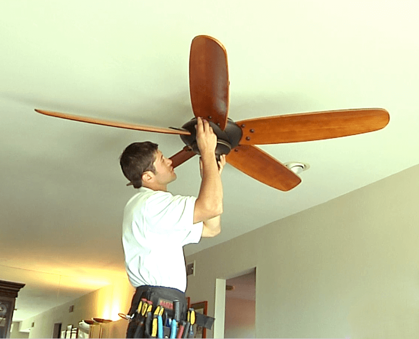 Install or replace ceiling fans homefix handyman fan mozeypictures Images