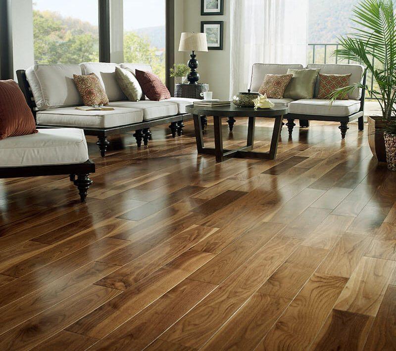 Prefinished-Natural-Walnut-Flooring-Installed